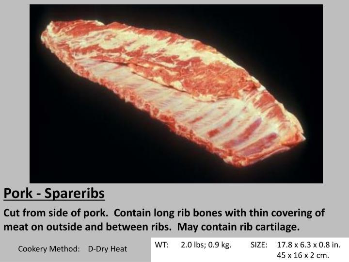 Pork - Spareribs