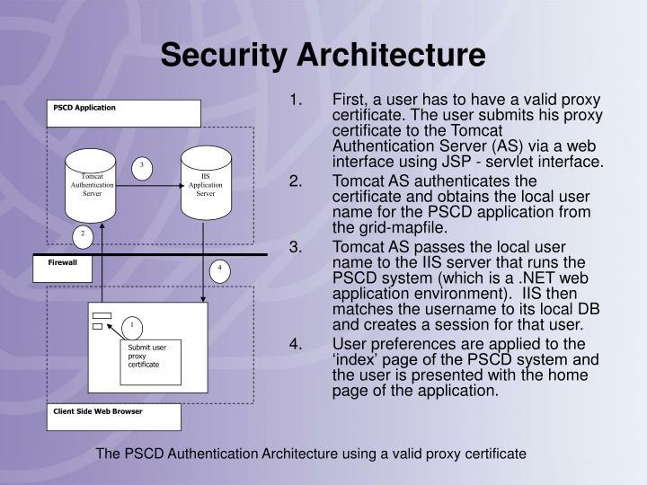 PSCD Application