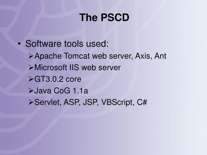 The PSCD