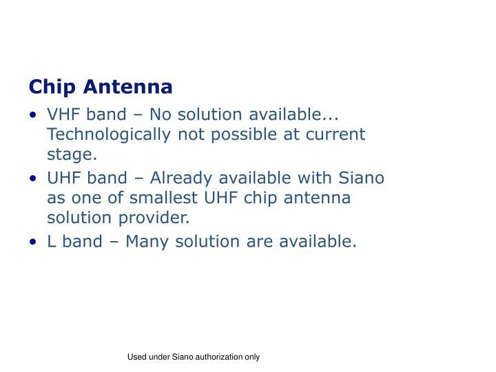 Chip Antenna