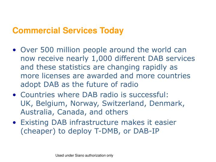 Commercial Services Today