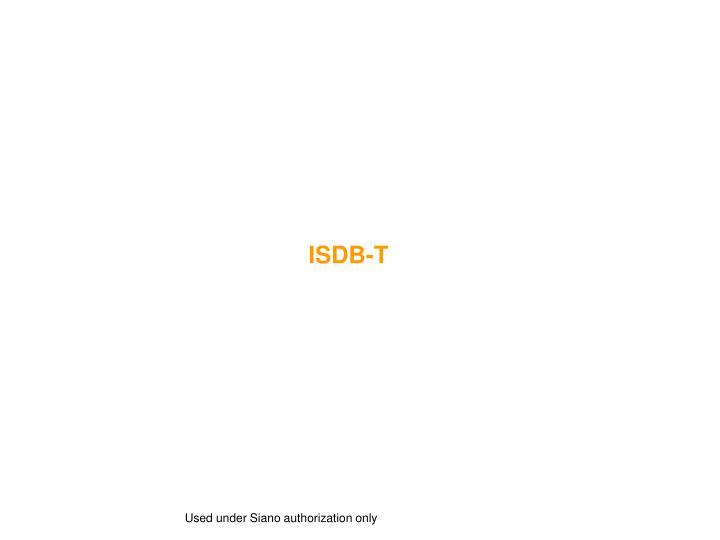 ISDB-T