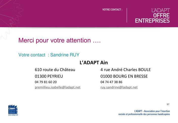 L'ADAPT Ain