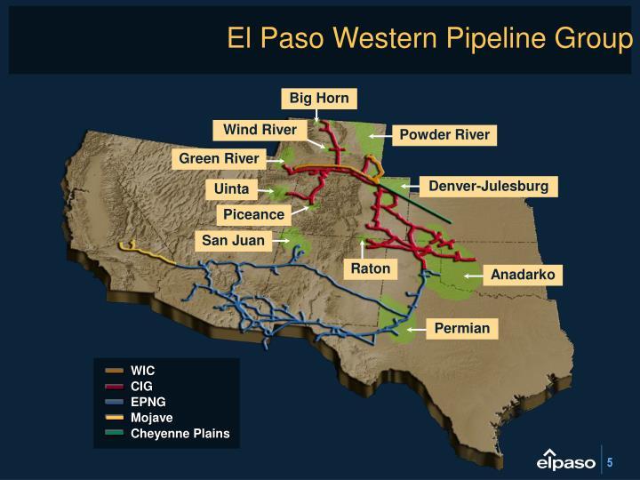 El Paso Western Pipeline Group