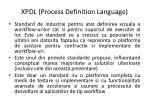 xpdl process definition language