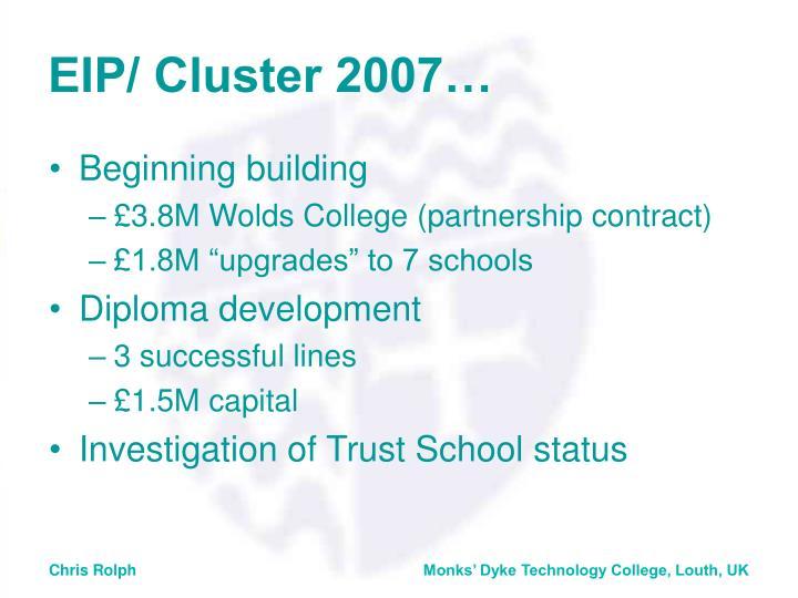 EIP/ Cluster 2007…