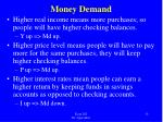 money demand1