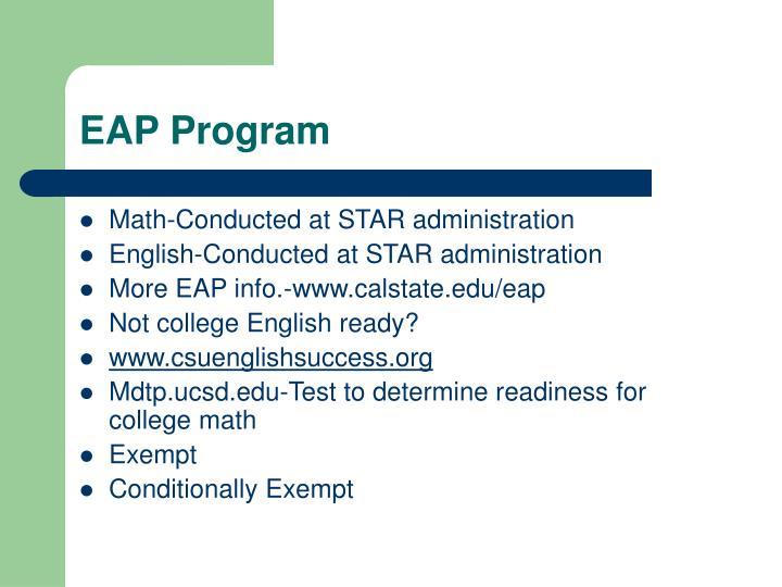 EAP Program