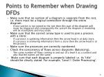 points to remember when drawing dfds1