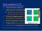 data analysis 1 3
