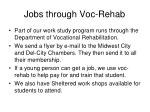 jobs through voc rehab