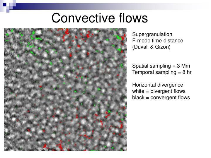 Convective flows
