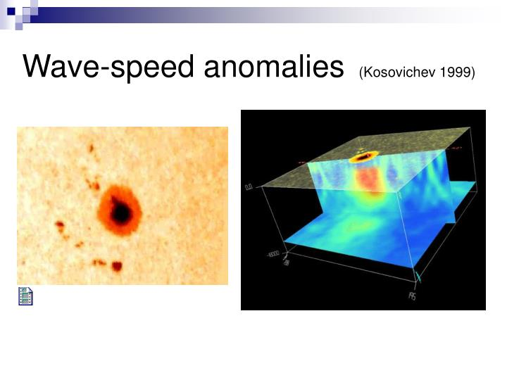 Wave-speed anomalies