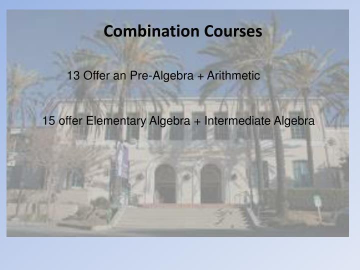 Combination Courses
