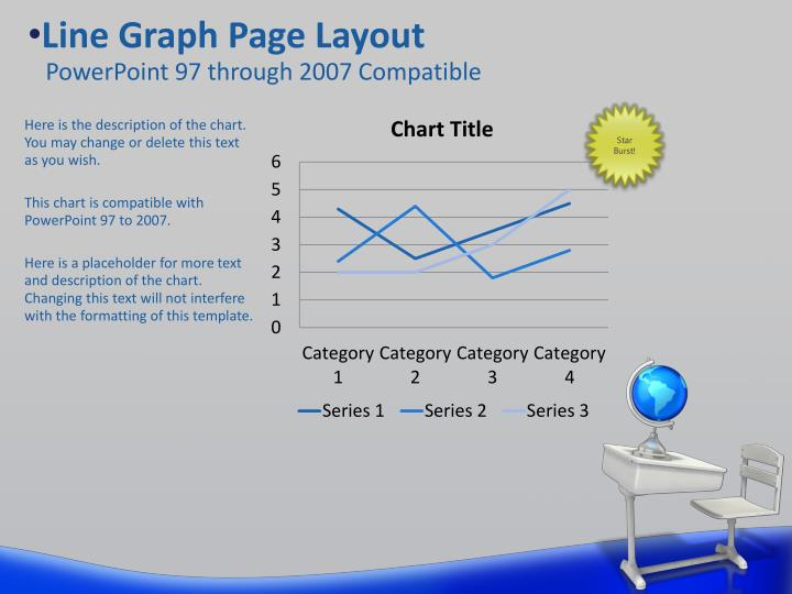 Line Graph Page Layout