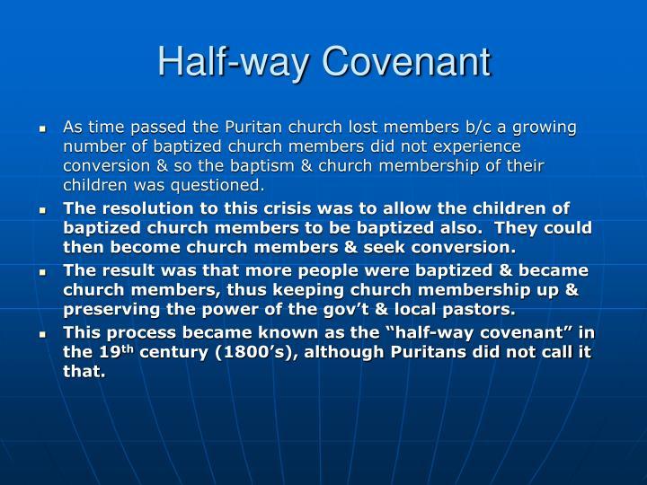 Half-way Covenant