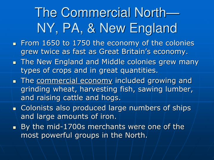 The Commercial North—