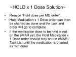 hold x 1 dose solution1