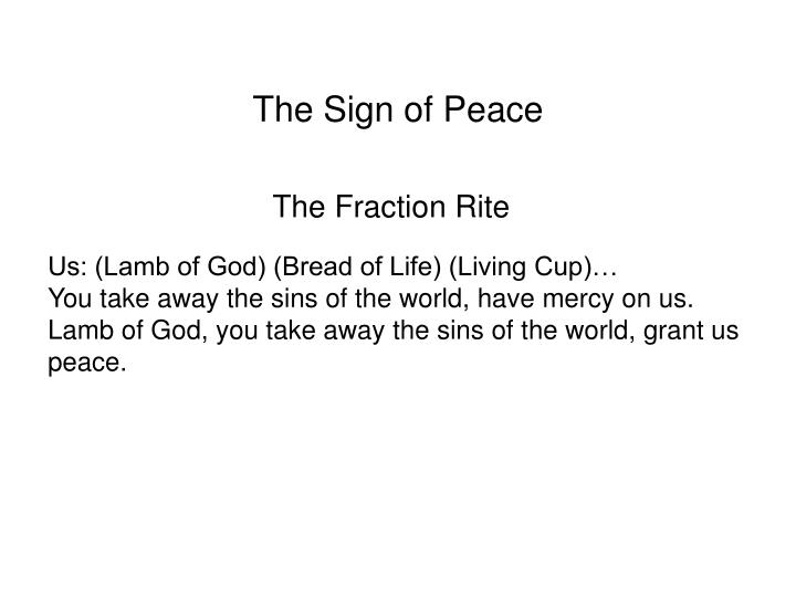 The Fraction Rite