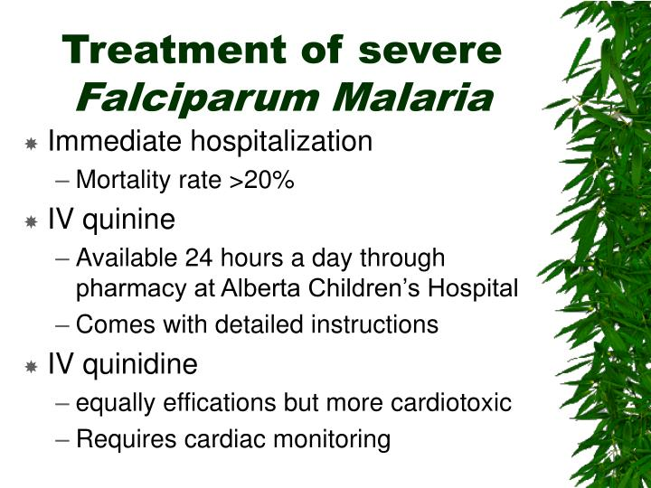 Treatment of severe