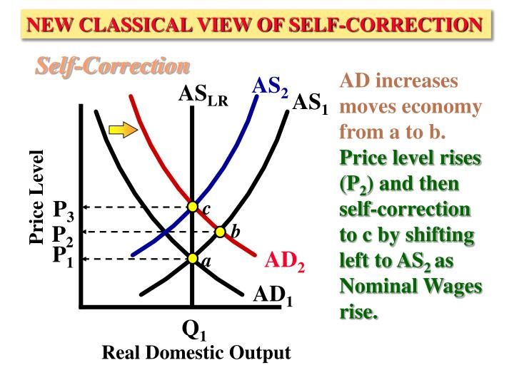 NEW CLASSICAL VIEW OF SELF-CORRECTION