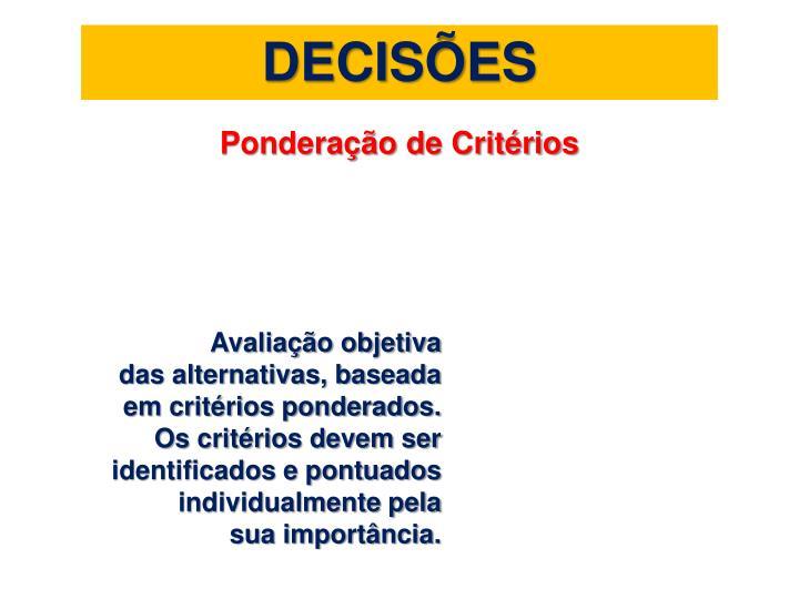 DECISÕES