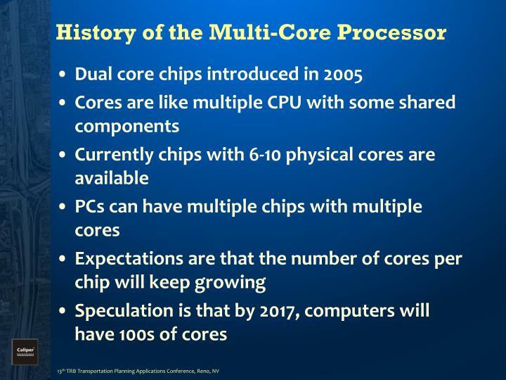 History of the Multi-Core Processor