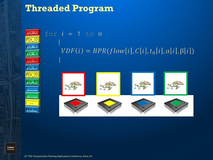 Threaded Program