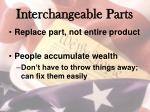 interchangeable parts1