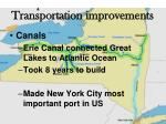 transportation improvements1