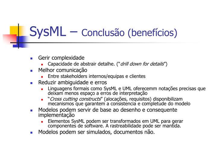 SysML –