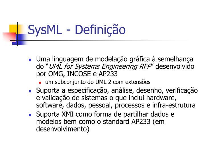 SysML - Definição