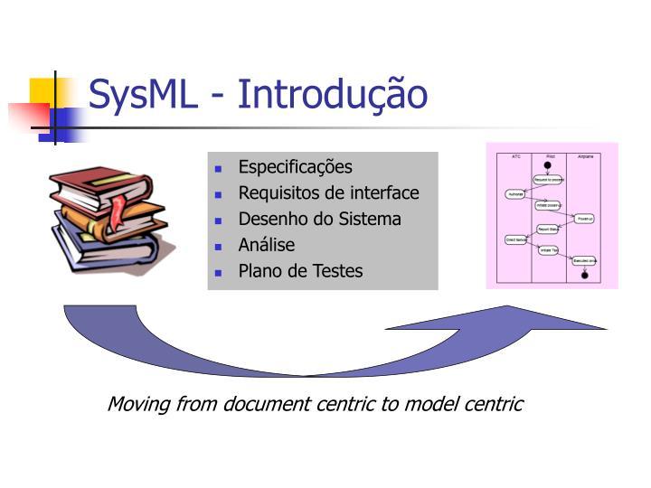 SysML - Introdução