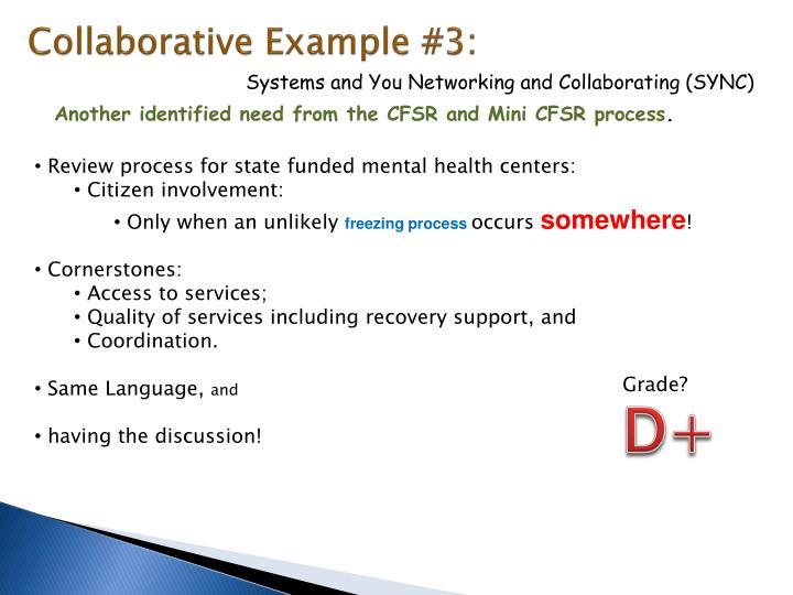 Collaborative Example #3: