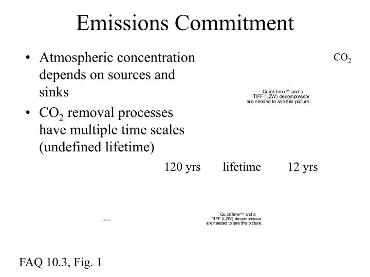 Atmospheric concentration depends on sources and sinks