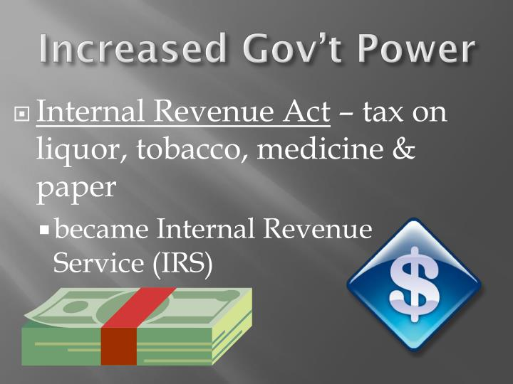 Internal Revenue Act