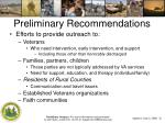 preliminary recommendations2