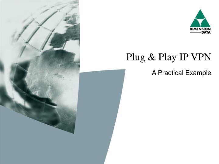 Plug & Play IP VPN