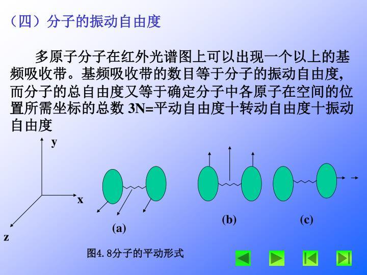 (四)分子的振动自由度