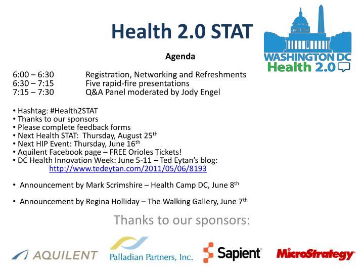 Health 2 0 stat