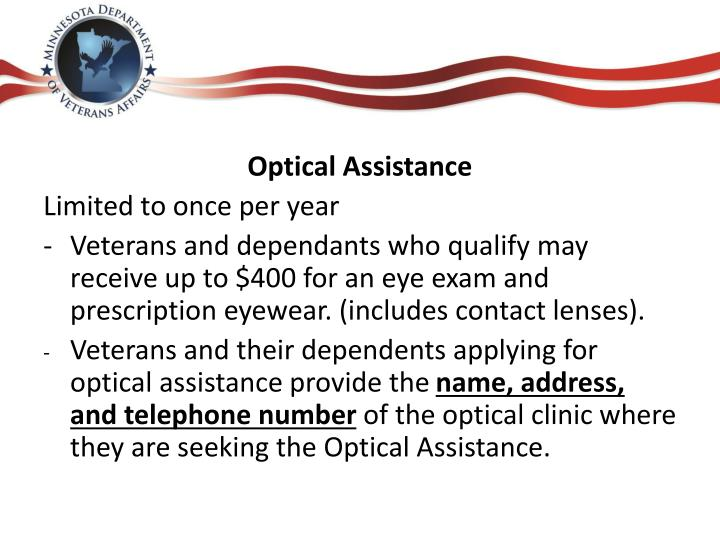Optical Assistance