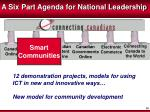 a six part agenda for national leadership2