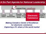 a six part agenda for national leadership5