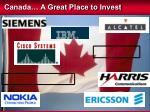 canada a great place to invest
