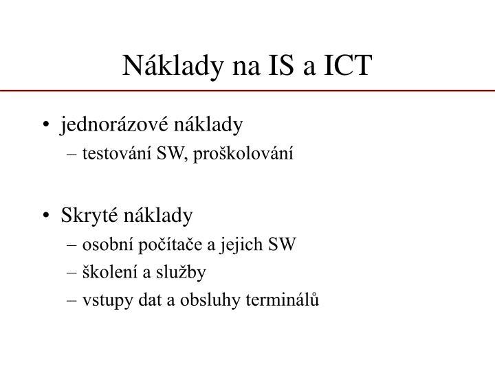 Náklady na IS a ICT