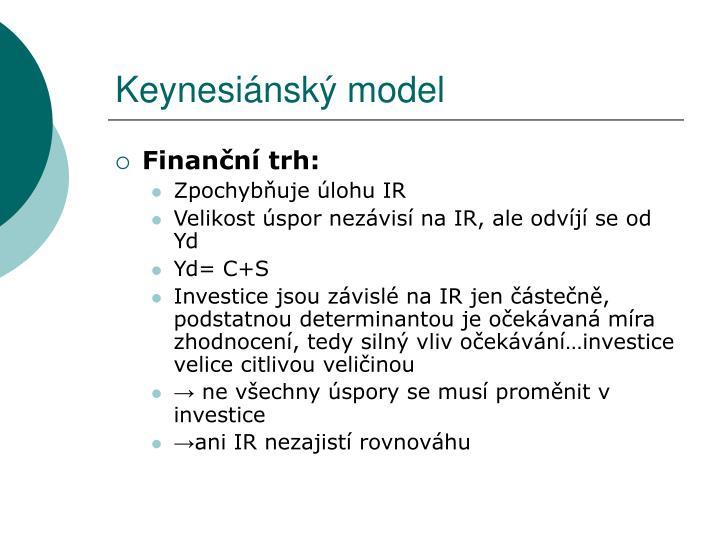 Keynesiánský model