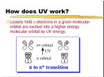 how does uv work