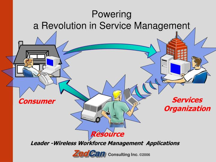 Powering a revolution in service management