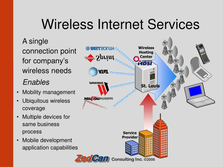 A single connection point for company's wireless needs