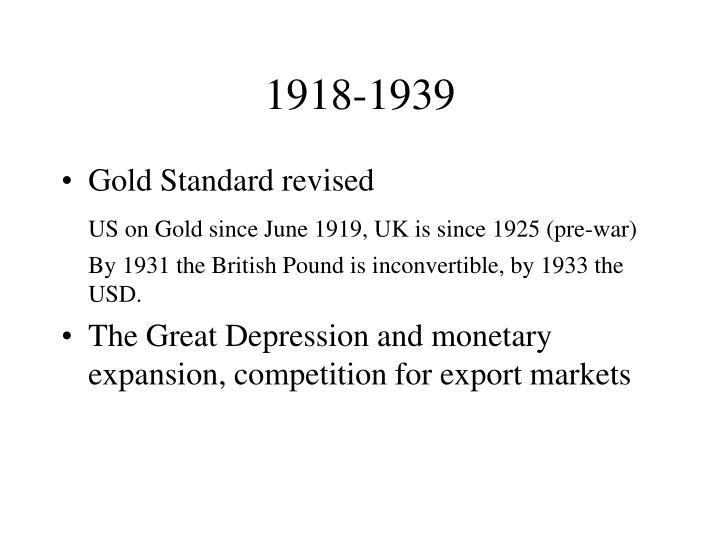 1918-1939